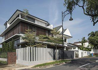 新加坡 Clifton 山谷住宅