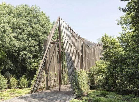 园林景观案例 蒂冈小教堂实景图