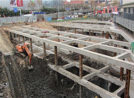 各种基坑支护结构施工工艺流程解析