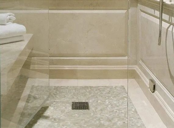 卫生间总积水排水坡度有问题!