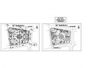 [竖向设计]趋势竖向发展广场室内设计的设计图纸与过程图片