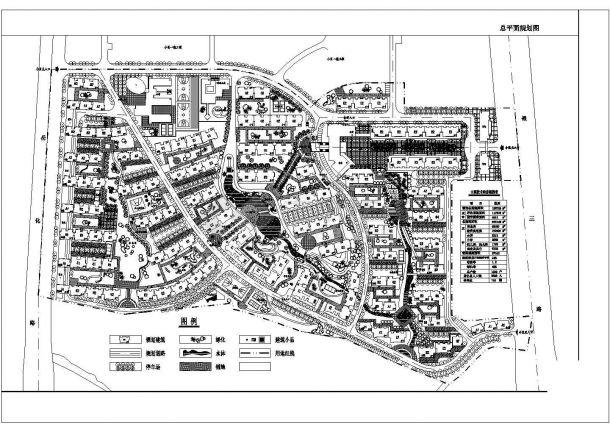 某六层啤酒一期工厂v啤酒规划设计cad图(含总平小区平面工程设计图cad图片