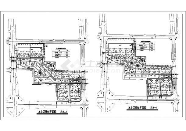 某v用地用地73152平方米小区规划设计cad总平室内设计日语书图片