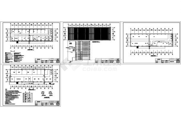 某房子铅笔CAD设计图车间设计图水电图片