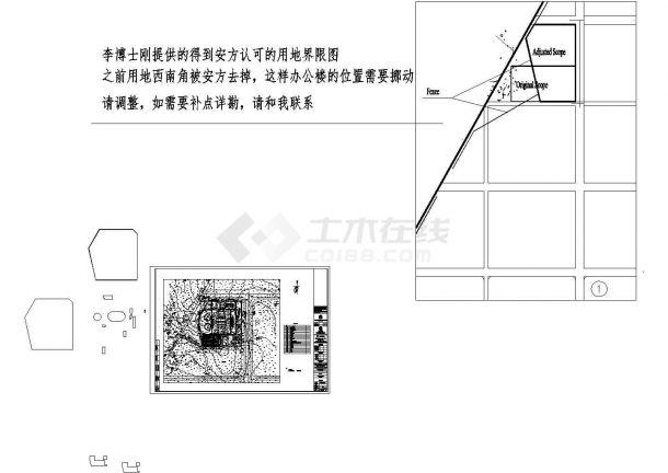 某厂区广场工厂竖向v厂区CAD图如何绘制动圆图片