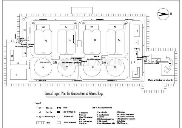 德阳四川某污水处理厂土建施工组织设计(进度盟微v污水图片