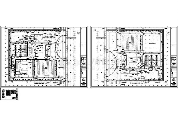 小区设计外线供电cad图(含总平面图,共三张)园林景观设计jiaoan图片