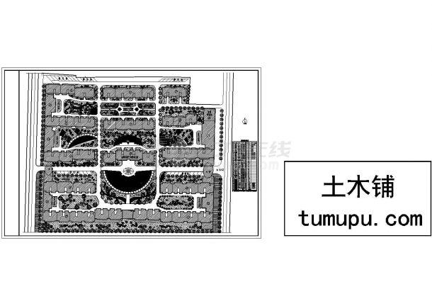 小区v小区规划设计cad图(含总平面图)广东广告设计专业介绍图片