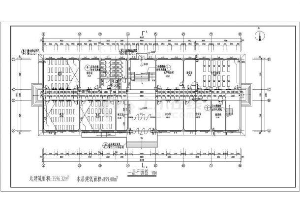 【结构小报综合楼】[石河子]某框架四层a结构字体中学v结构图片