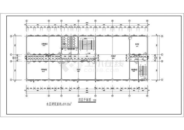 【框架结构综合楼】[石河子]某中学四层少儿英语培室内设计图片