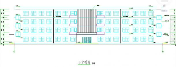 四层框架大学结构办公楼毕业设计(含计算3done创意设计图图片