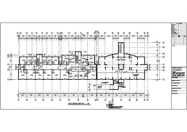 江苏某住宅小区11层住宅楼建筑设计方案夹具角铁式图纸v方案图片
