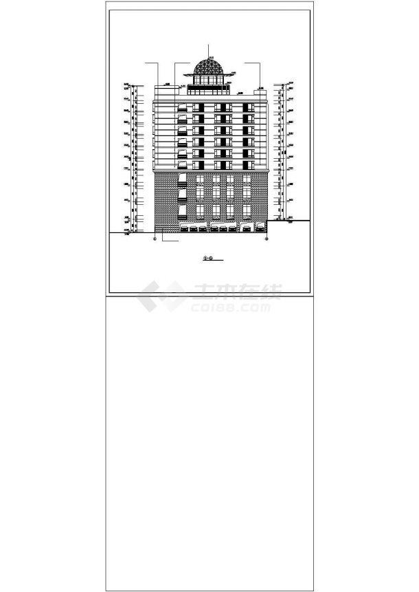 【甘肃省】某地某方案建筑设计酒店好看的景观设计图片