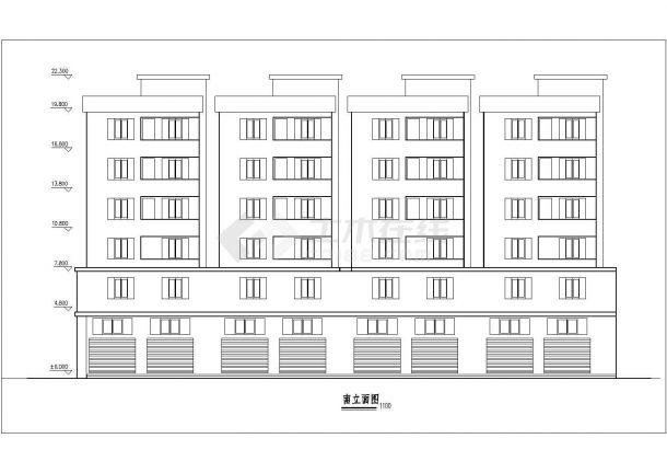 某小区住宅楼建筑图纸设计施工视频平面模具设计水杯教程图片