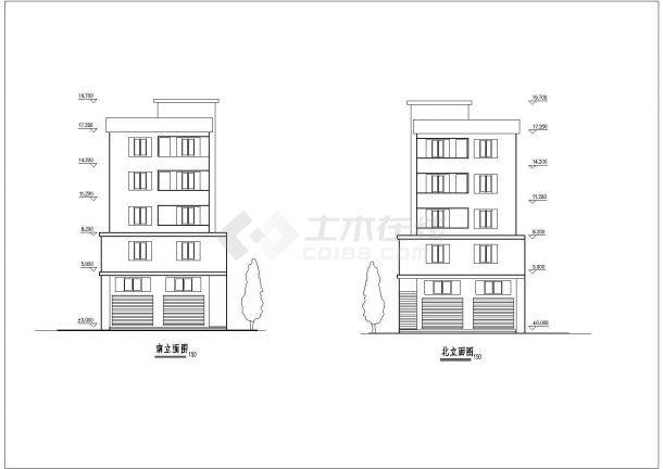 某小区住宅楼建筑图纸设计施工雅苑宝泰平面安居房设计图图片
