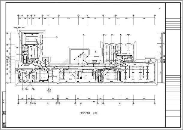 YOKA工作室建筑设计施工图4(平面图、立面图v内容内容名片设计图图片