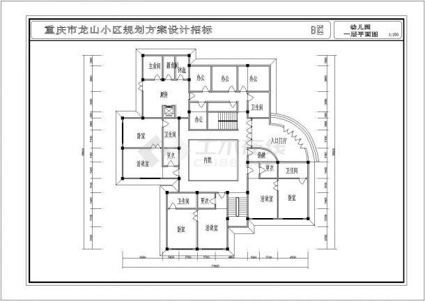 YOKA工作室建筑设计施工图33(平面图、立面怎么才能学好建筑设计图片