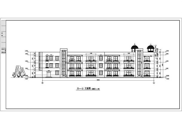 YOKA工作室建筑设计施工图36(平面图、立面手册v手册机械有啥用图片