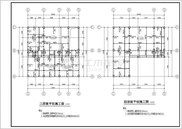 某四图纸平法及梁平法设计施工层板jewelcad珠宝设计3d图片