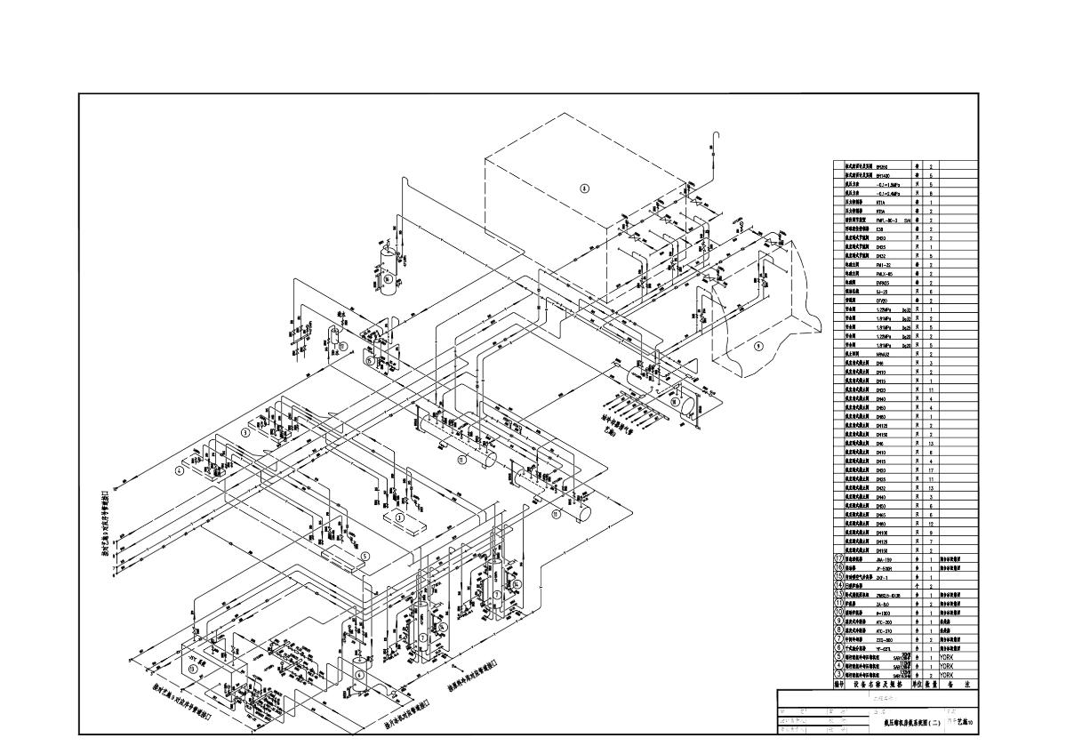 冷库设计车间部分图纸图片