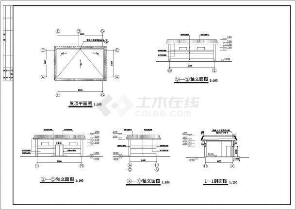 某工厂内56平米公共厕所建筑设计江苏博亚建筑设计有限公司v工厂图片