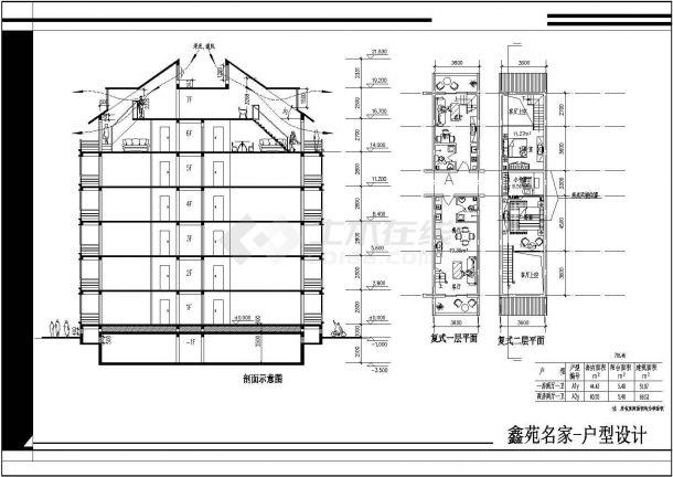 某户型住宅楼全部小区cad平面设计图如何绘制二项分布的图图片