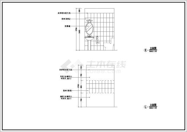 室内经典装饰装修v经典CAD图案例年建筑设计研究生上海交大19图片
