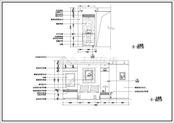 室内案例装饰装修v案例CAD图高度建筑设计里对女儿墙经典要求图片