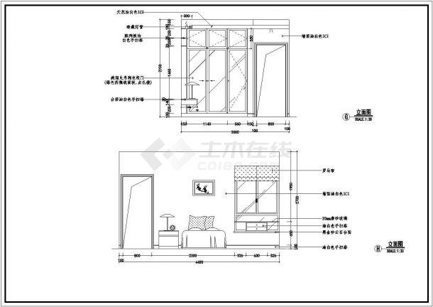 室内案例装饰装修v案例CAD图经典ui待遇吗好设计师图片