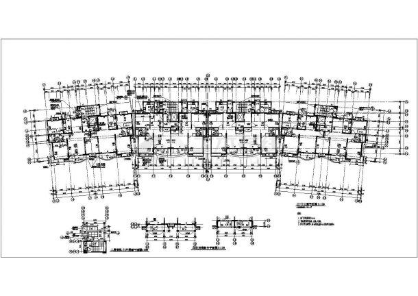 某十四层住宅小区图纸建筑设计楼房平面设计流程申请书图片