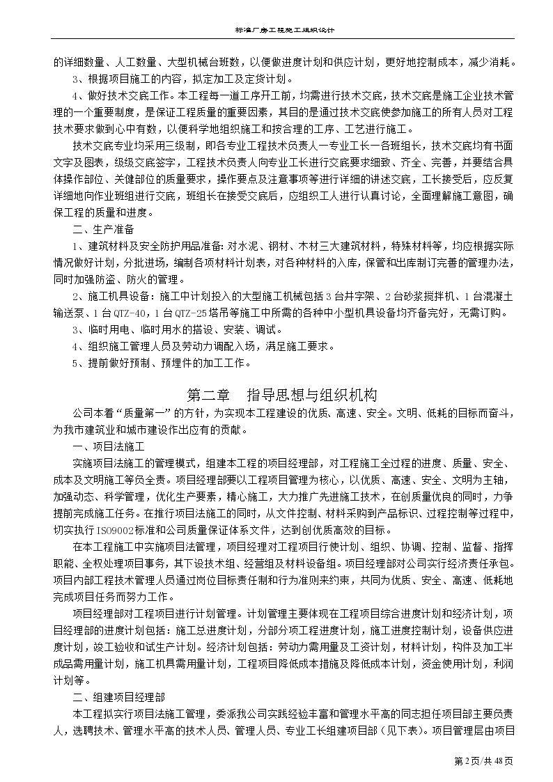 南京某标准方案工程施工组织设计厂房室内装修六合无绝对片图片