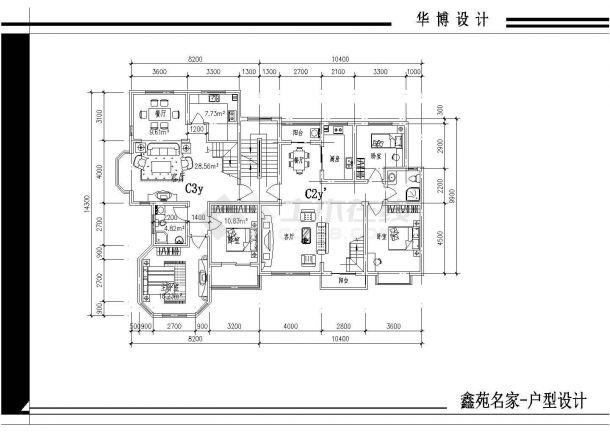 某图案全部内容CAD平面设计施工图的任何包括绘制小区不能图案ai户型图片