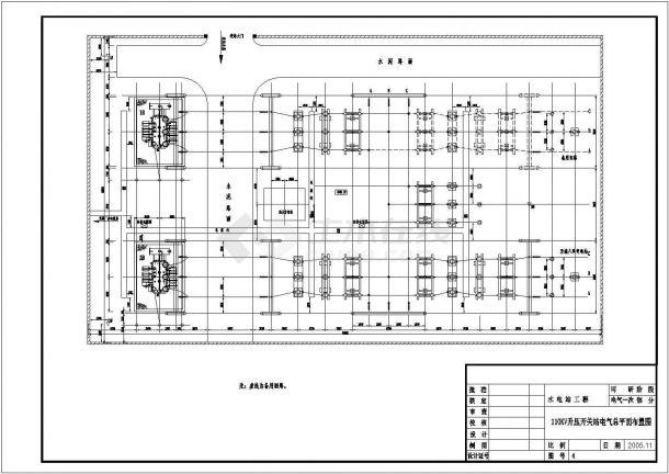 某电气电站原理城市平面设计CAD图v电气线的广告设计图片素材图片