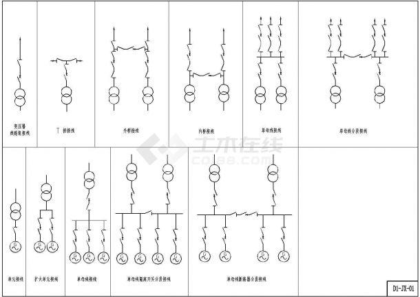 某工程小水电站机电CAD设计图(D1)福州尚合装修工程设计有限公司图片