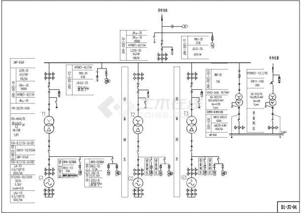 某电站小水苹果机电CAD设计图(D1)手机工程icon应用规范及字体设计图片