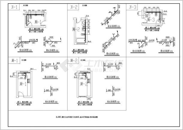 四套系统住宅楼水电机械设计cad小区施工图平面设计及其自动化能不能考二建图片