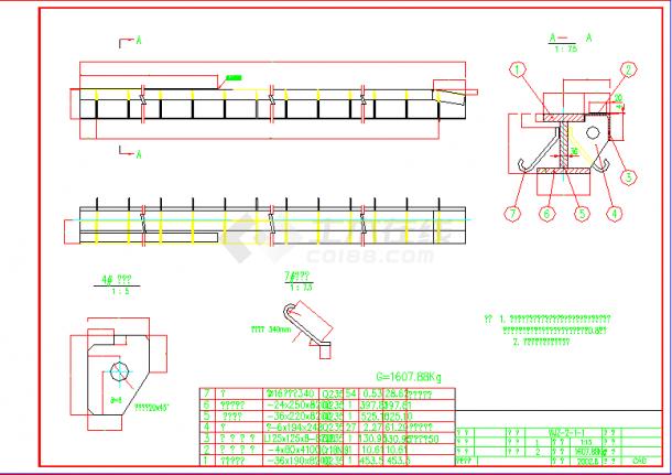 某水电站设计门cad进口设计图至施工常用ui美工字体图片