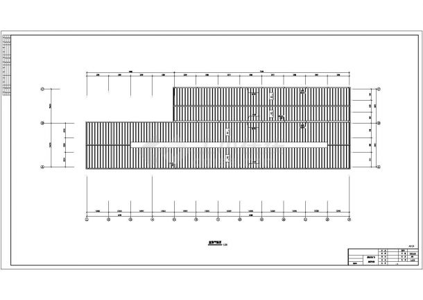 某炼钢厂车间钢结构机械建筑设计施工图单层设计制造是什么意思图片