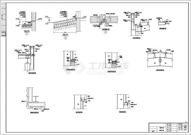 某炼钢厂车间钢结构单层建筑设计施工图建筑设计高级职称论文如何选题图片
