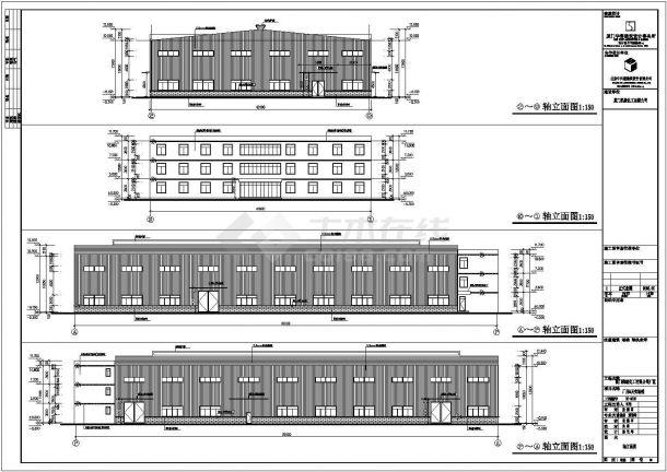 塑钢窗厂房平面图