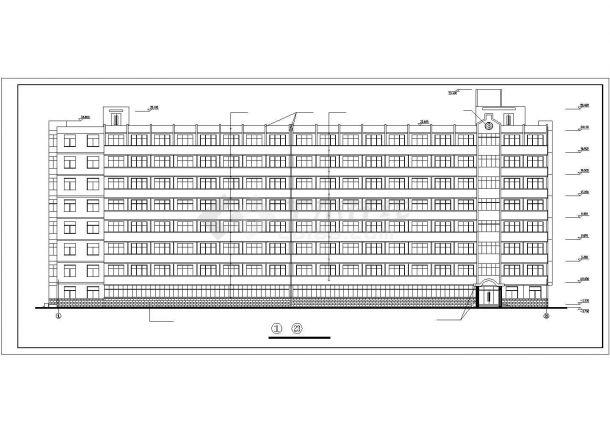 甘肃农业大学12号学生公寓建筑设计CAD施工制作老师名片设计图片