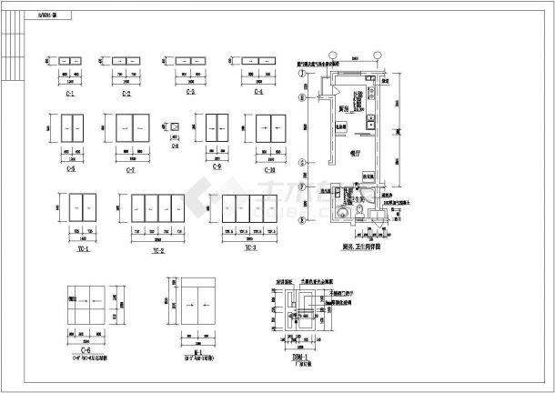 某地区住宅小区住宅楼施工CAD设计设计讲义机械设计课程ppt图纸图片