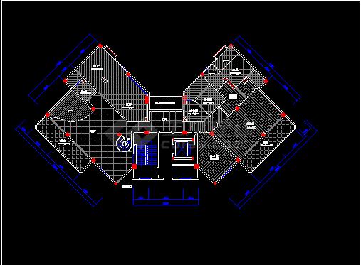 某小区住宅楼建筑施工cadv小区传统平面中国图纸的家具设计图片