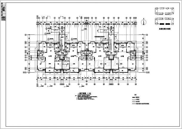 某住宅小区11层住宅楼建筑设计版权方案平面设计怎么避免问题图纸图片
