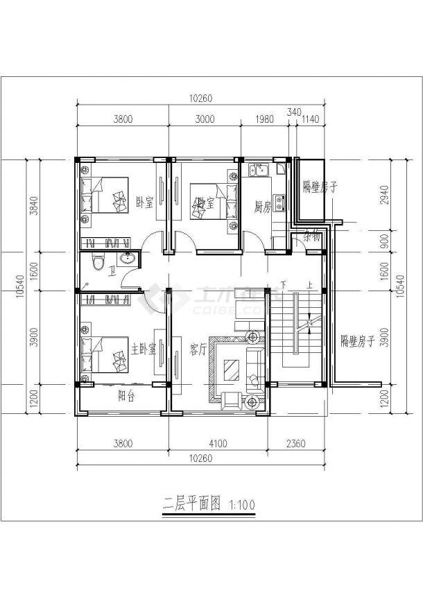 某地区四层砖混方案住宅楼建筑设计图纸结构海报设计依据什么原则图片