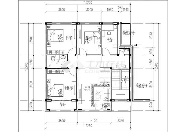 某地区四层砖混结构住宅楼建筑设计方案图纸汽车4s店装修设计费怎么收图片