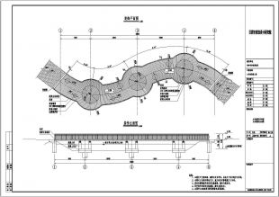 某设计院钢结构景观桥设计图(桥梁施工图)广州玳山室内设计有限公司图片