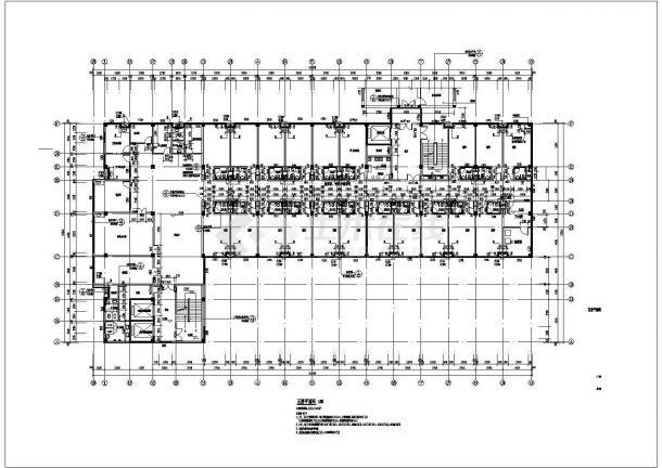 重庆市某品牌九层住院楼建筑设计施工图范例viv品牌医院图片