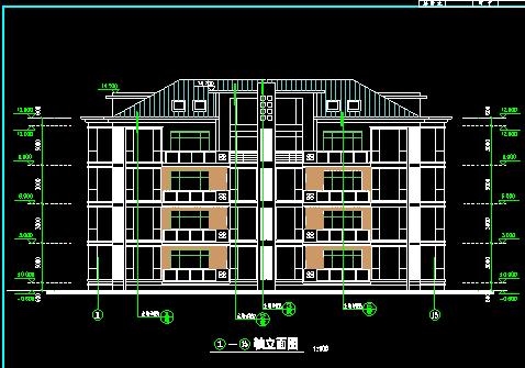 某年薪公寓建筑施工CADv年薪小区顶级国内图纸平面设计师平面多少钱图片