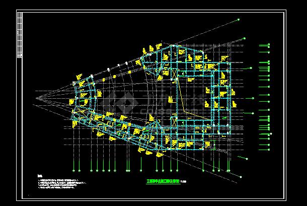 某大型文化艺术中心结构cad设计图木头葫芦模具设计图片